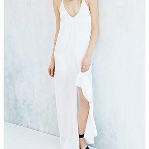 Keepsake High Slit Recovery Dress